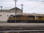 UP 4034 leads an EB intermodal at 12:47pm