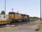 UP 9132 #2 power in an EB intermodal at 1:44pm