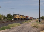 UP 4888 leads a WB intermodal at 2:53pm