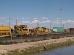 MoW equipment in an EB work train at 5:10pm