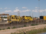 MofW equipment in an EB work train at 5:10pm