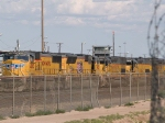 UP 4922 #2 power in a WB intermodal at 5:12pm