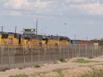 UP 2664 #5 power in a WB intermodal at 5:12pm