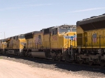UP 3936 #2 power in an EB autorack/intermodal at 10:42am