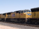 UP 4963 #2 power in an EB autorack/intermodal at 11:37am