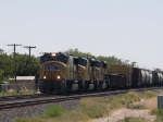 UP 4365 leads a WB manifest at 12:11pm