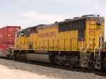 UP 4002 #3 power in an EB intermodal at 12:33pm