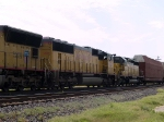 UP 4609 #2 power in a WB intermodal at 10:45am
