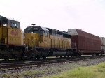 UP 3317 #3 power in a WB intermodal at 10:45am