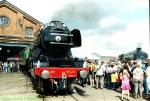 "ex-LNER 4472 ""Flying Scotsman"" and ex-BR 60009 (ex-LNER 4488) ""Union of South Africa"" At The Doncaster 150 Celebration"