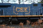 New CSX ES44AC with new boxcar logo!