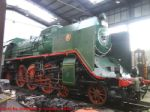 Ex-CSD 387.043 in Engine Shed at the CD Muzeum