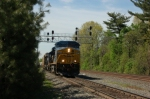 Northbound at CP-7 on CSX Riverline