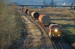 BNSF 4308 from 21st St viaduct