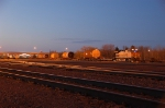 BNSF 4308 resting for the night