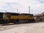 UP 8163 #2 DPU in EB coal train at 11:25am