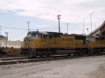 UP 4695 leads an EB intermodal at 11:55am