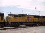 UP 5042 #2 power in an EB intermodal at 11:55am