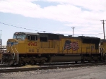 UP 4942 leads an EB intermodal at 12:06pm