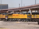 UP 9817 #2 power in an EB intermodal at 11:04am