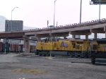 UP 7600 leads a WB intermodal at 2:11pm