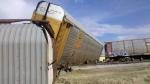 Conrail-UP G.M. Car Derailment 2