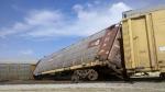 Conrail-UP G.M. Car Derailment