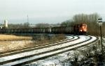 CN #5775 leads a Potash train