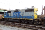 CSX 2540 looks like it was an SCL engine at somepoint. The panel above the rear light gives that away