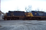CSX 331 shows up to keep 5104 company