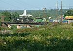 CSX Train Q182 crosses I-85