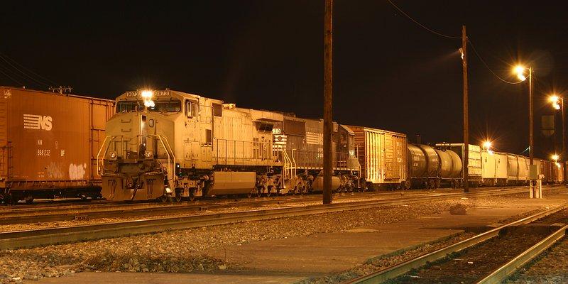 NS Train 119 yards his train