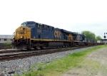 CSX 5385 with Q142 Northbound