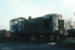 New York, Susquehanna and Western Railway Alco S2 No. 205 on the dead line