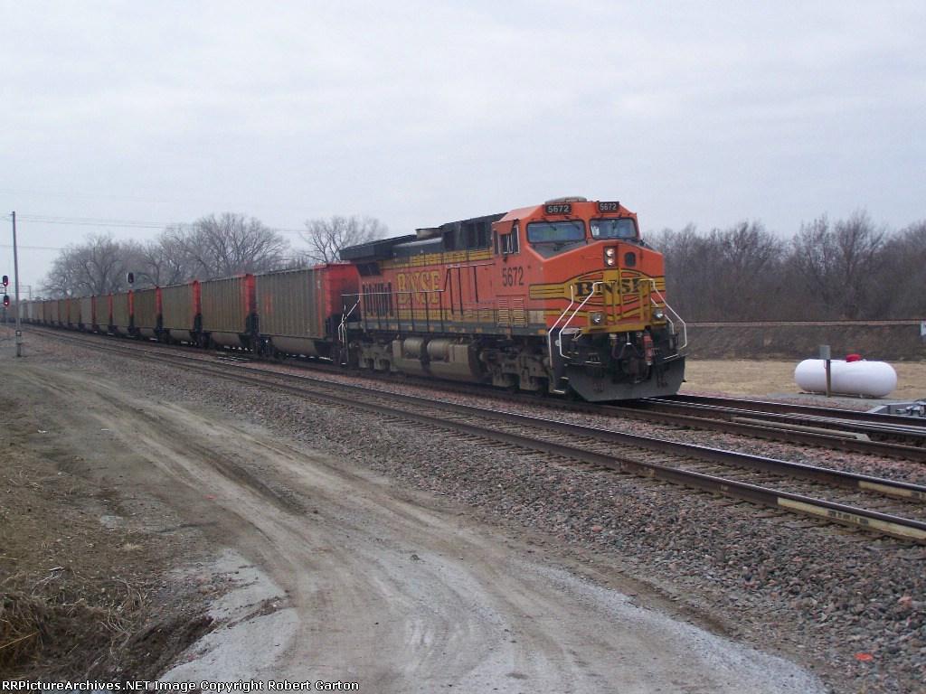 BNSF 5672, DPU