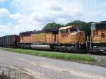 BNSF 9895 Helps Pull a Coal Train East