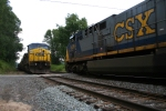 CSX 635 meets SU403 at CP Nobody