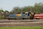 CSX 2530 works Parsons yard