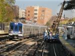 Track Crane At Work