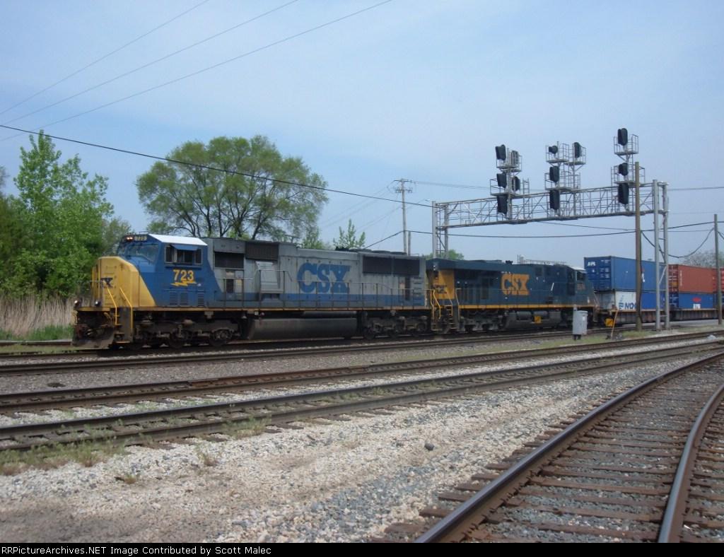 CSX 723 & 5374