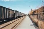 Line of Coal Cars
