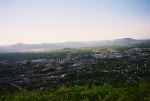 The view from Mill Mountain