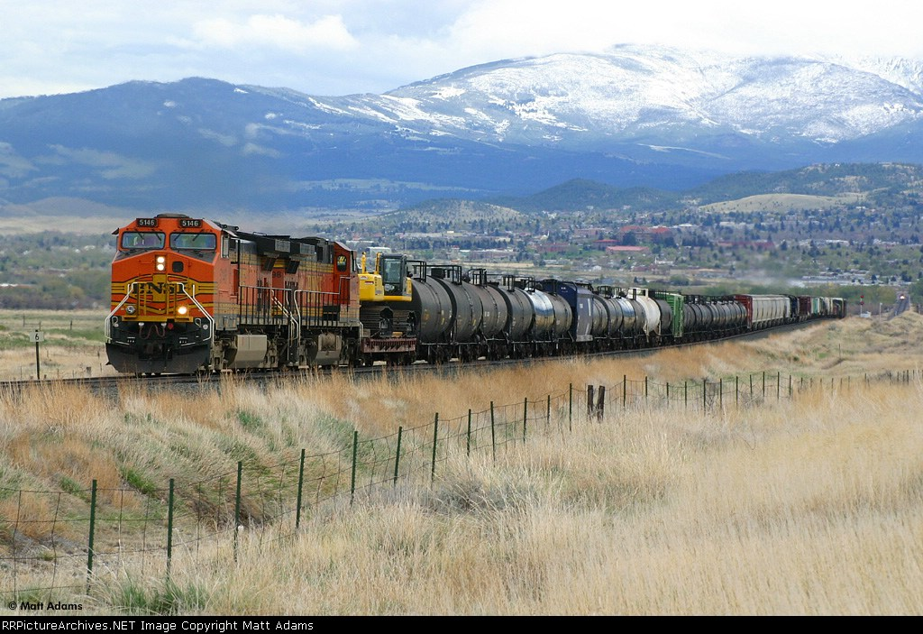 Laurel Spokane BNSF 5146 West