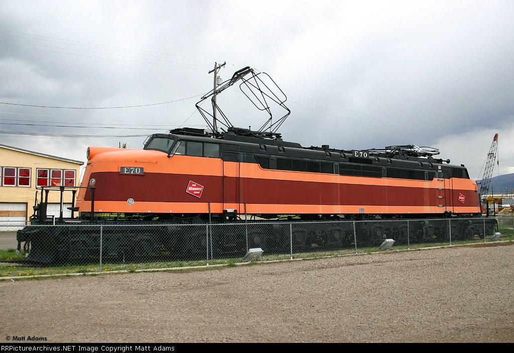 """MILW """"Little Joe Stalin's locomotive"""" E70"""