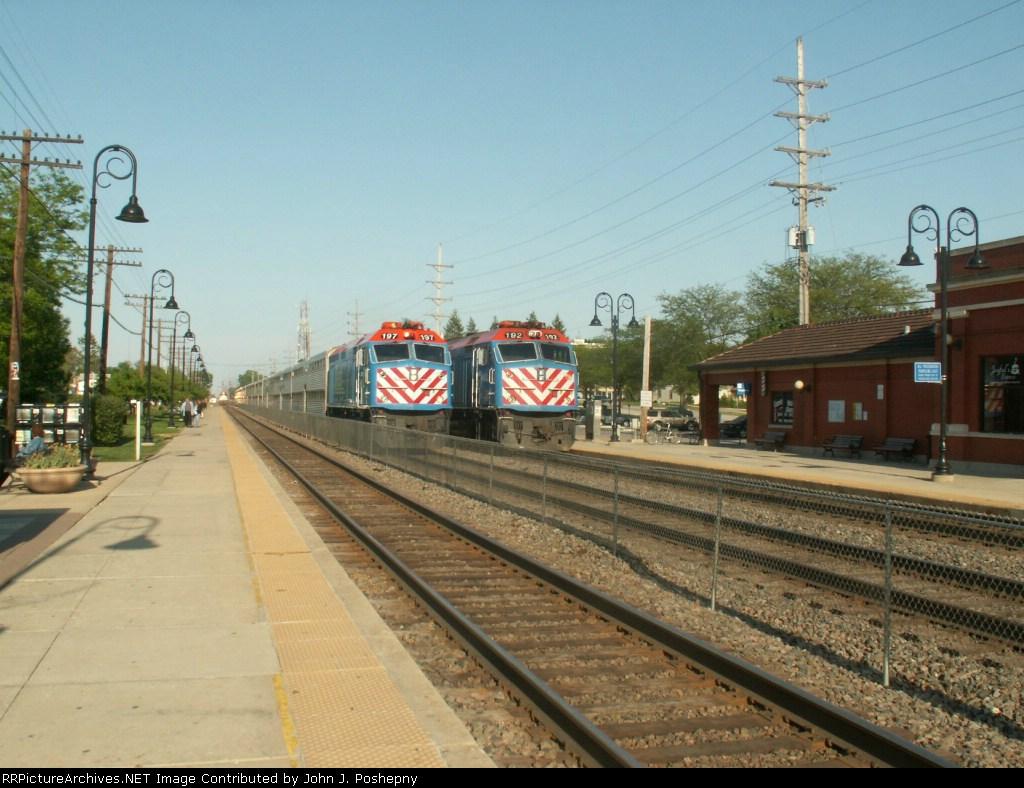 The Almost Triple Train Meet