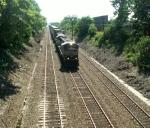 Z Train Heads East
