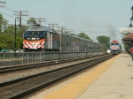 Metra Express coming in