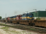 5 Unit ICE Train Heads east