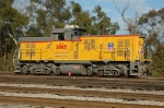 UPY 2005, NRE 2GS14B, is a one of a kind NRE Genset switcher made from ex SP 2690 MP15 locomotive,
