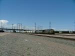 TFM Power leads a Train thru Pueblo